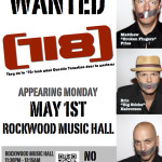 Rockwood Music Hall May 2017
